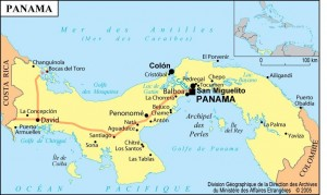 Trajet Panama