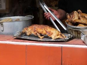 Cochon d'inde grillé